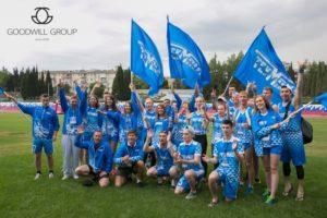 Organizatsiya timbildinga Rossiyskie korporativnyie igryi 2017